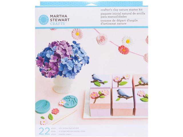 Martha Stewart Crafter's Clay Starter Kit-Nature