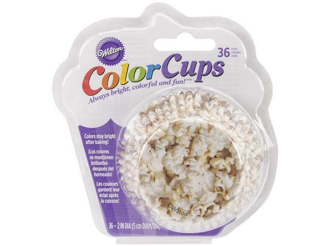 Colorcup Standard Baking Cups-Popcorn 36/Pkg