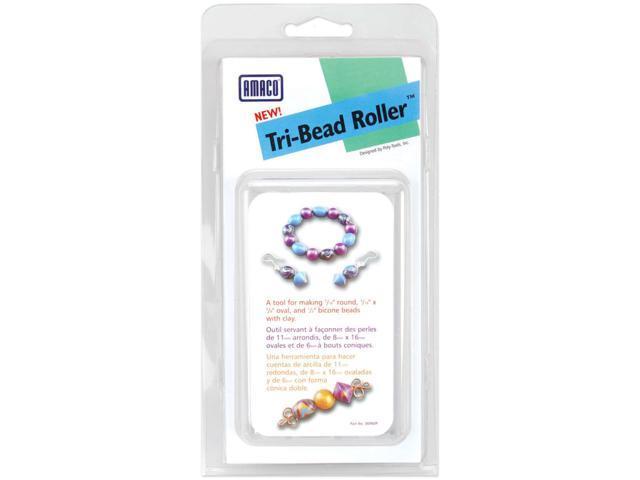 Tri-Bead Roller-Round, Oval & Bicone