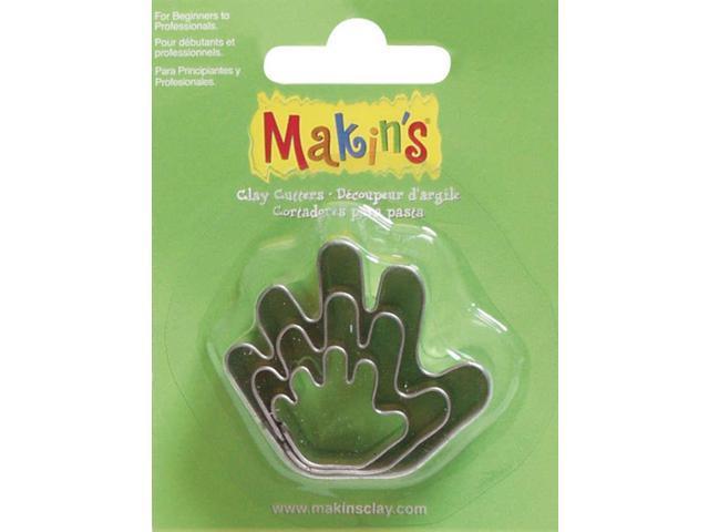 Makin's Clay Cutters 3/Pkg-Hand
