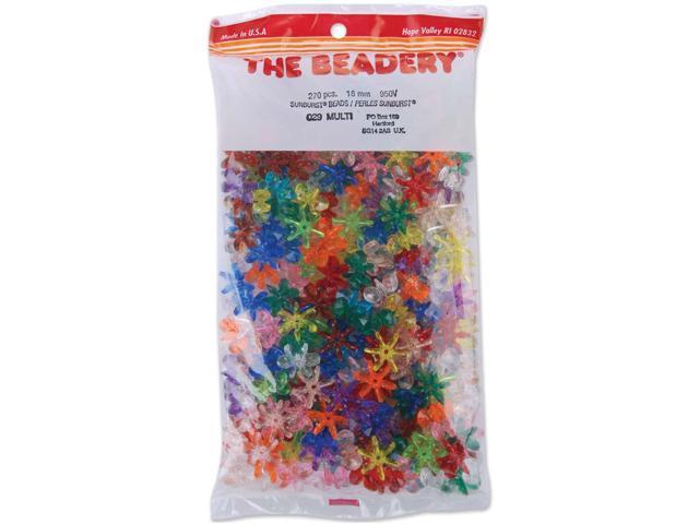Sunburst Beads 18mm 270/Pkg-Multicolor