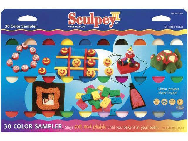 Alvin S3301 Sculpey Clay Sampler Set-30