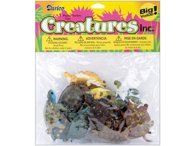 Creatures Inc.-Turtles 12/Pkg