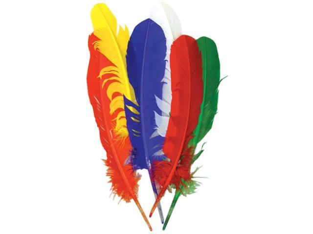 Turkey Quill Feathers 6/Pkg-Primary