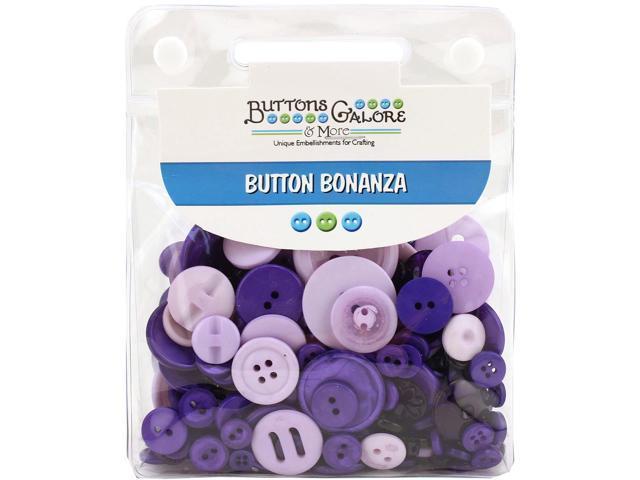 Buttons Galore Button Bonanza-Purple Passion