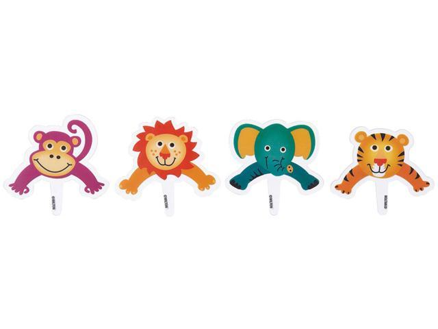 Pops Pix  8/Pkg-Jungle Pals