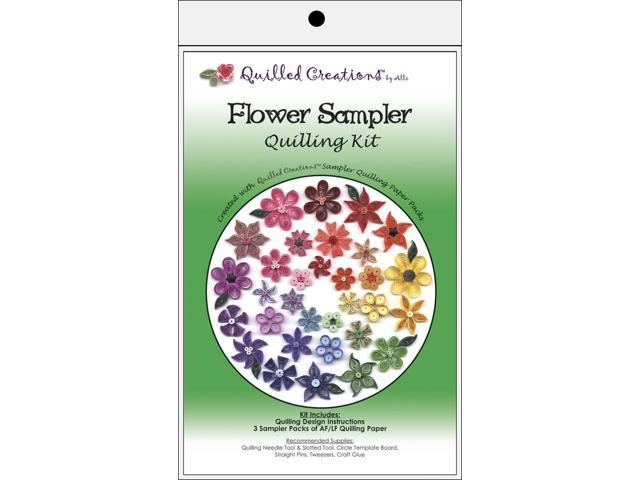 Quilling Kit-Flower Sampler