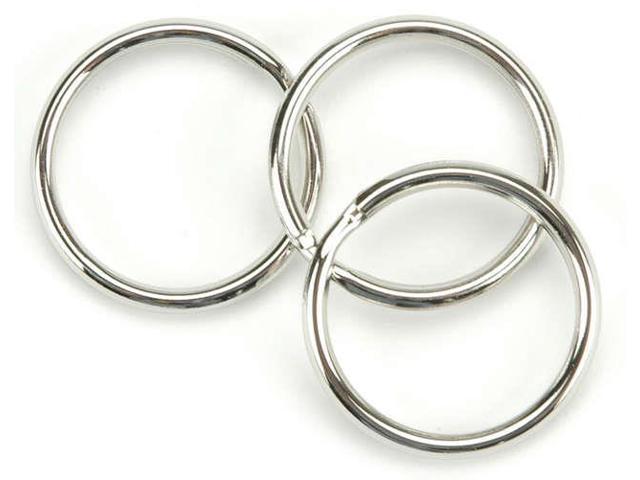 Nickel Split Key Rings-1