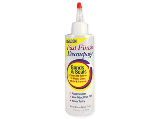 Fast Finish Decoupage Sealer-8oz