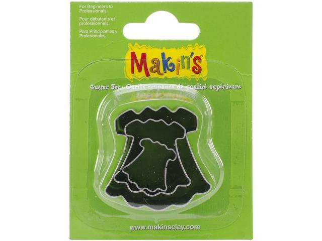 Makin's Clay Cutters 3/Pkg-Dress