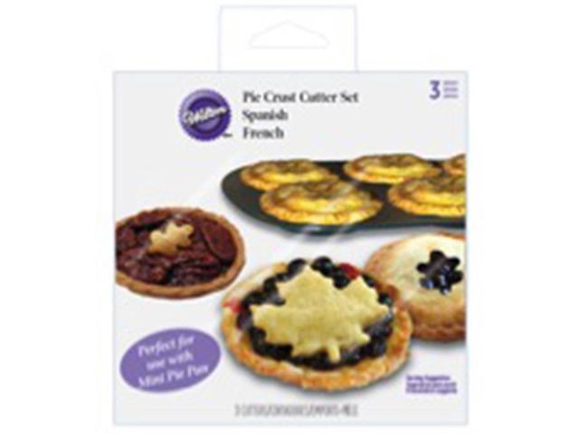 Pie Dough Cutter Set -Autumn