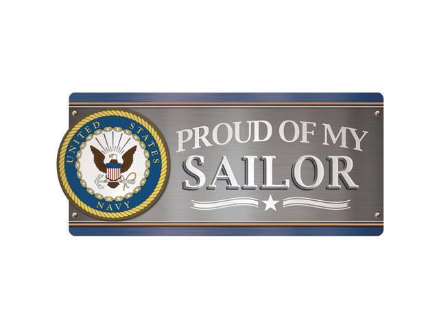 Car Magnet-U.S. Navy - Proud Of My Sailor