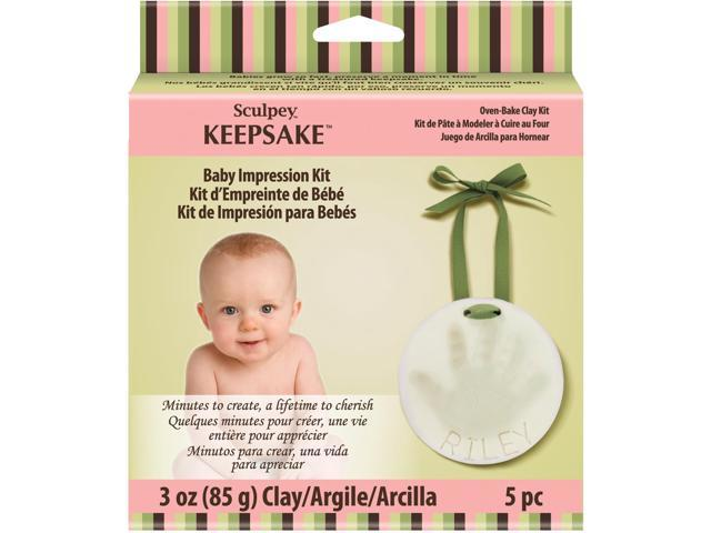 Sculpey Keepsake Kit-Baby Impression