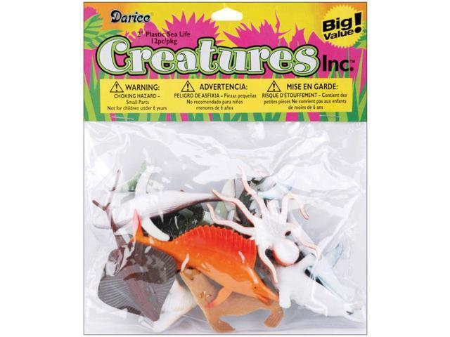 Creatures Inc.-Sea Life 12/Pkg