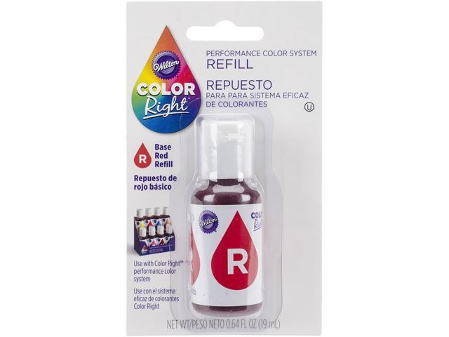 Color Right Performance Color System Refill .7oz-Red #2