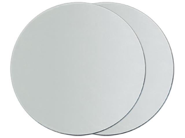 Round Glass Mirrors 2/Pkg-3