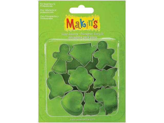 Makin's Clay Cutters 9/Pkg-Everyday