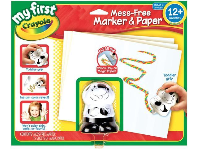 My First Crayola Mess-Free Marker & Paper-