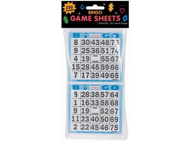 Bingo Game Sheets 4