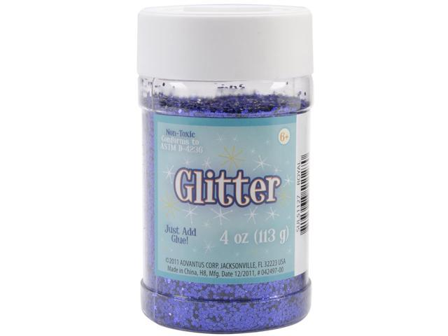 Glitter Shaker 4 Ounces-Royal Blue