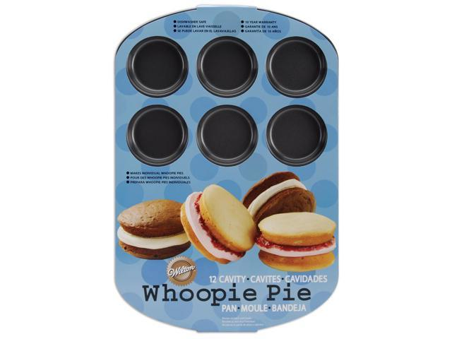 Whoopie Pie Pan-12 Cavity Round