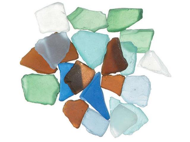 Genuine Glass Gems 1lb-Rainbow