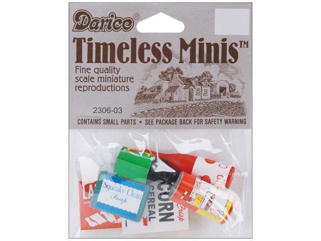 Timeless Miniatures-Groceries 6/Pkg