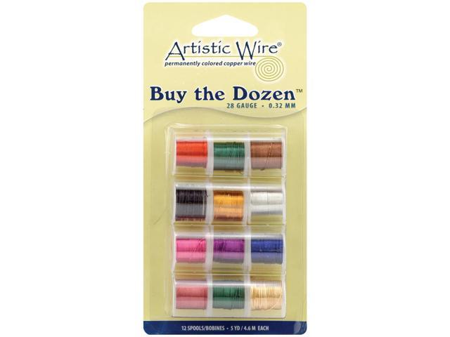 Artistic Wire Buy-The-Dozen 3yd 12/Pkg-28 Gauge