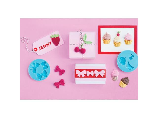 Martha Stewart Crafter's Clay Silicone Molds 4/Pkg-Sweet Shop