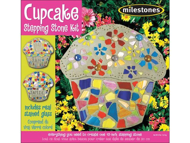 Mosaic Stepping Stone Kit-Cupcake