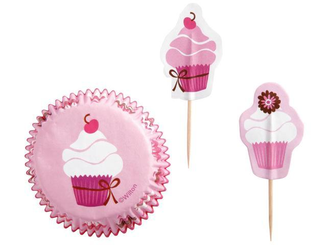 Cupcake Combo Pack-Pink Party 24/Pkg