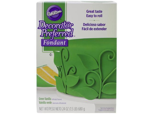 Decorator Preferred Fondant 24Oz-Green