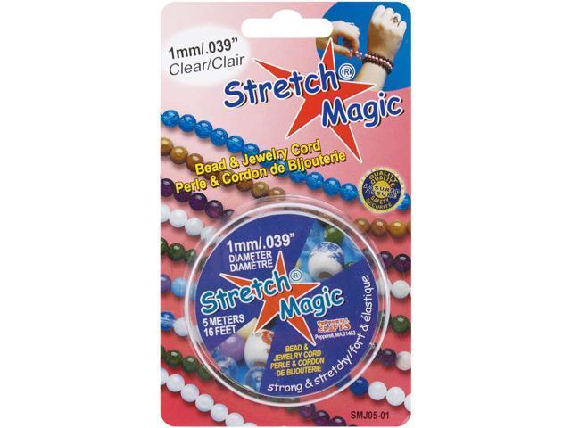 Stretch Magic Bead & Jewelry Cord 1mmX5m-Clear