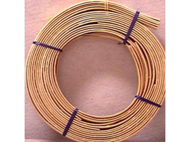 Flat Oval Reed 15.88mm 1lb Coil-Approximately 60'