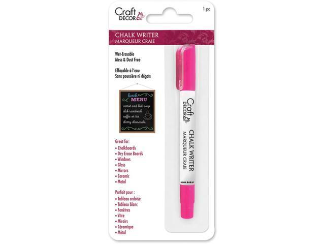 Craft Decor Chalk Writer-Neon Pink