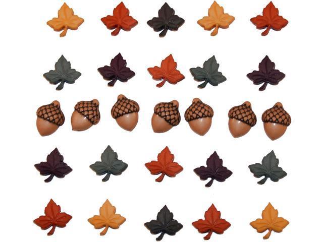 Dress It Up Holiday Embellishments-Fall Medley