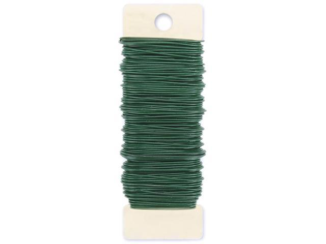 Paddle Wire 20 Gauge 4oz-Green