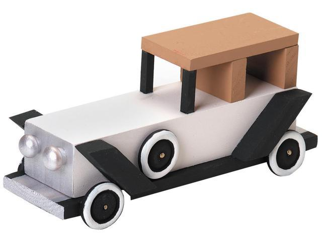 Wood Model Kit-Antique Limo 6.25