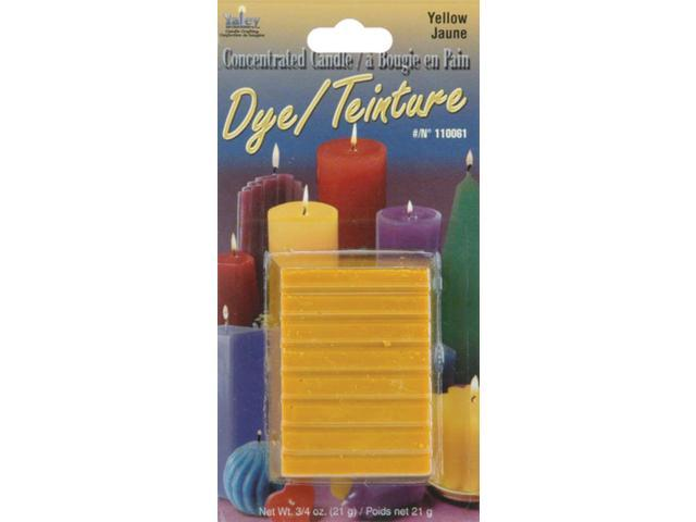Concentrated Candle Dye .75oz Block-Yellow