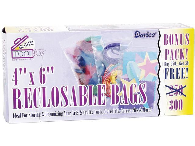 Reclosable Bags 300/Pkg-4