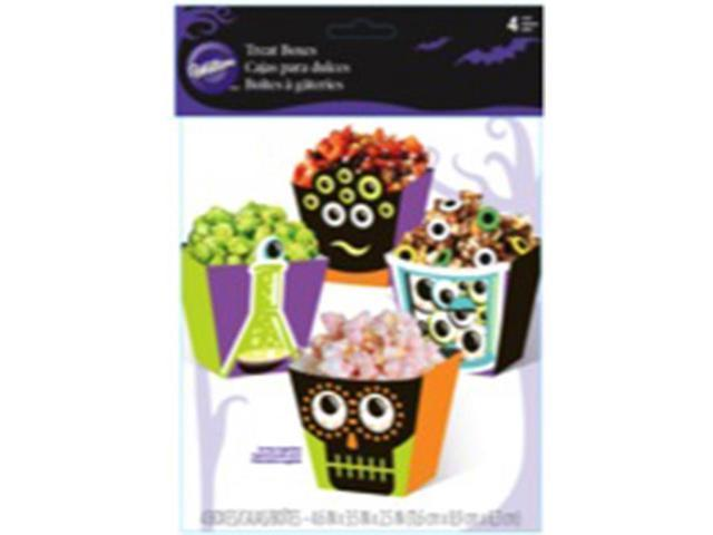 Popcorn Box Kit 4/Pkg-Eyeballs