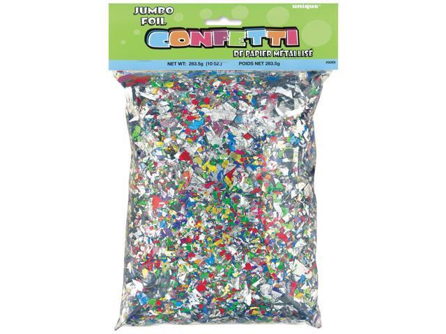 Jumbo Foil Confetti 10oz-Multicolor