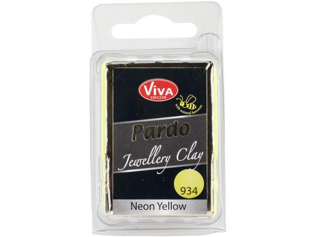 Pardo Jewelry Clay 56G-Neon Yellow
