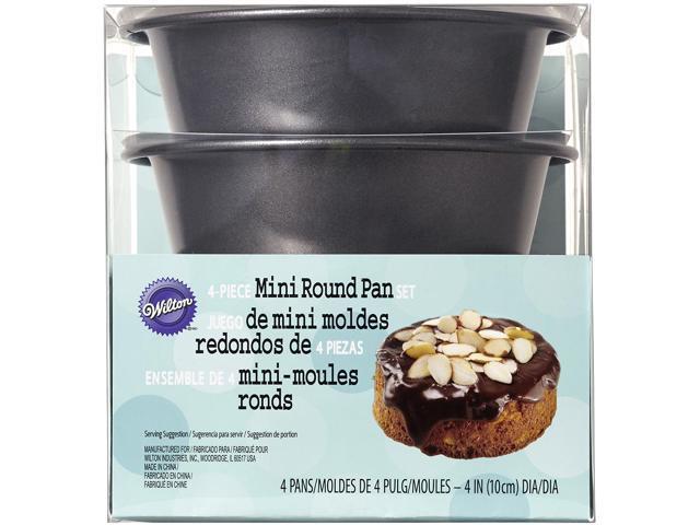 Mini Cake Pans 4/Pkg-Round 4