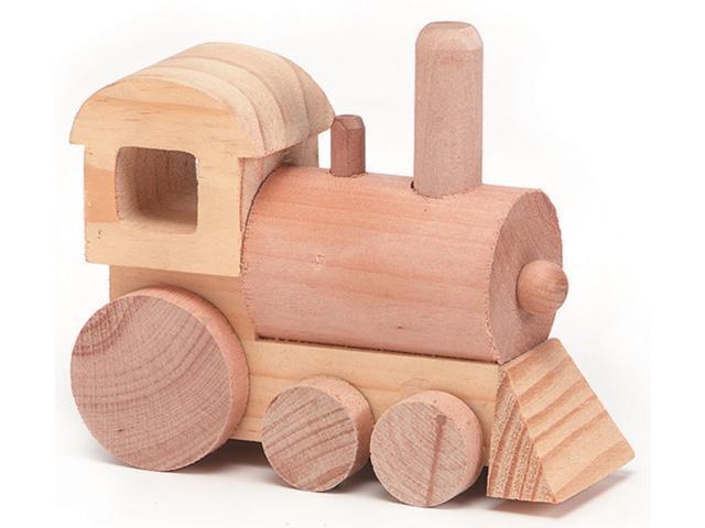 Wood Model Kit-Train 4.5