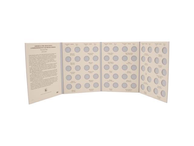 America The Beautiful Commemorative Quarter Folder-2010-2015