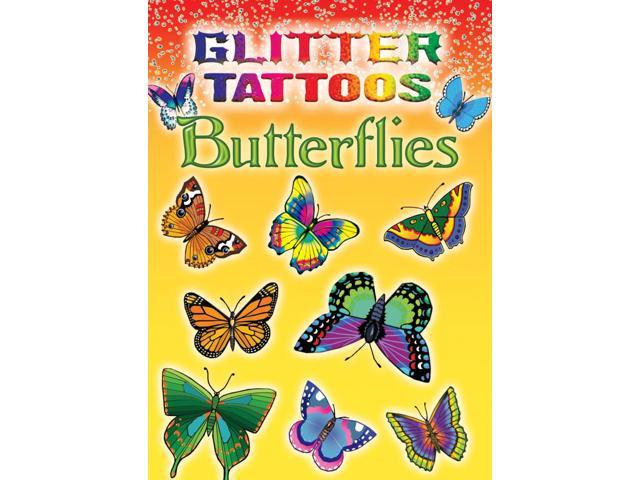 Dover Publications-Glitter Tattoos Butterflies