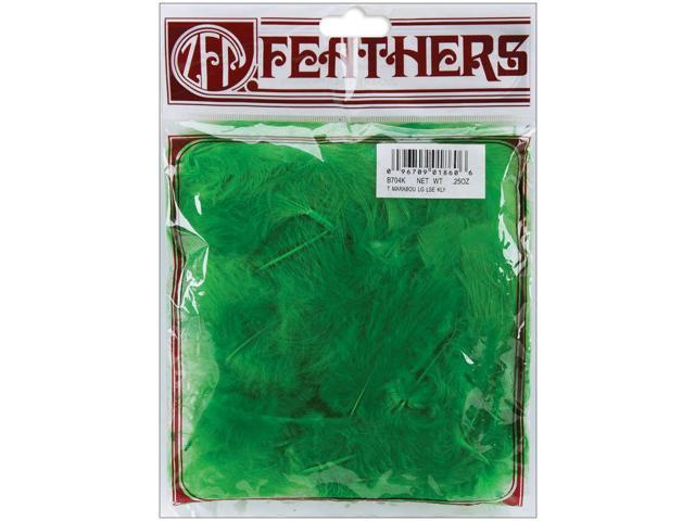 Marabou Feathers .25oz-Kelly Green