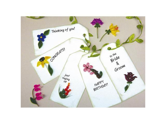 Quilling Kit-Mini Flower Gift Tags