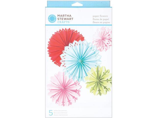 Modern Festive Paper Flower Kit Makes 5-